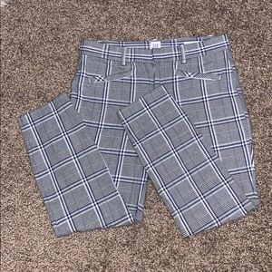 Gap Plaid Pants.
